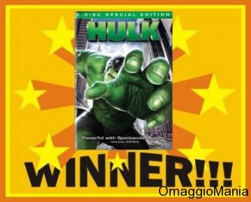 contest dvd Hulk
