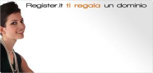Register.it ti regala un dominio