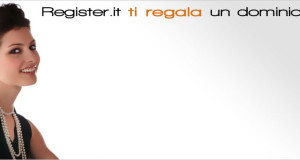 Register.it ti regala un dominio