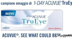 Campione omaggio lenti a contatto Acuvue TruEye