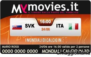Slovacchia-Italia al cinema in 3d con MyMovies