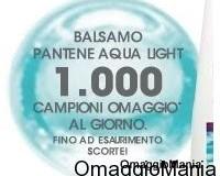 Balsamo Pantene omaggio