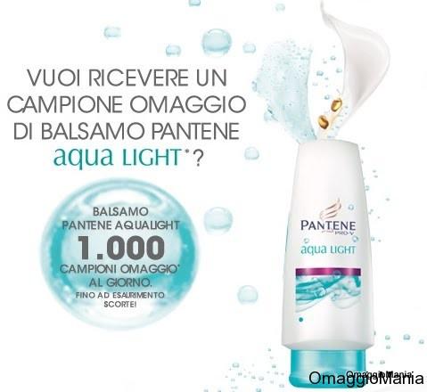 Campione omaggio Balsamo Pantene