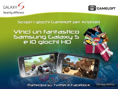 contest Gameloft Android