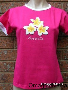 maglietta gratis rosa Australia