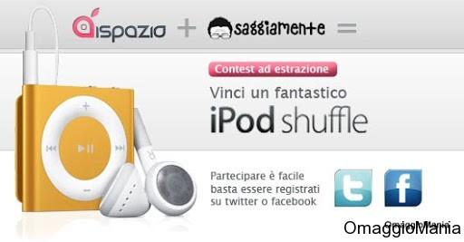 iPod Shuffle contest iSpazio Saggiamente