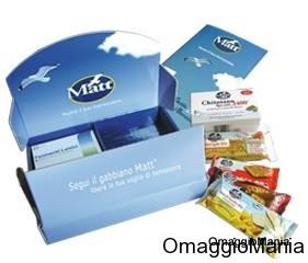 campioni omaggio prodotti per il benessere Matt