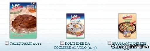 calendario 2011 e ricettari PaneAngeli