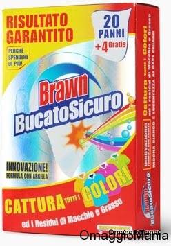 campione omaggio panno Brawn BucatoSicuro