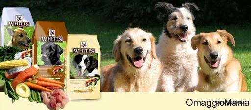 campione omaggio cibo per cani Whites Premium