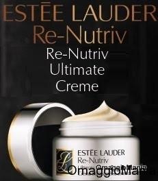 campione omaggio crema Estee Lauder Re-Nutriv