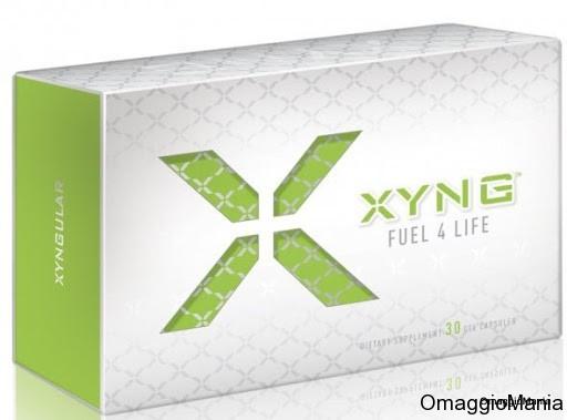 campione omaggio supplemento vitaminico XYNG