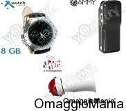 contest Tutto il Web orologio videocamera e mini-megafono mini