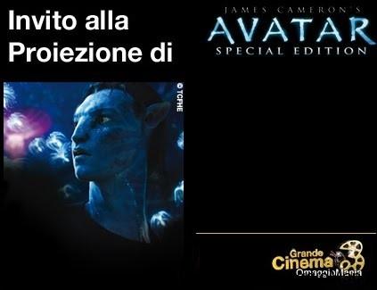 proiezione gratuita Avatar Special Edition Grande Cinema 3