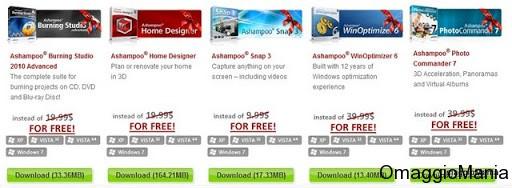 Software gratis Ashampoo Natale 2010