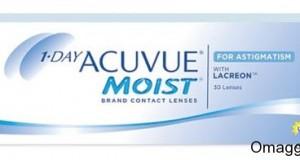 campioni omaggio lenti a contatto per astigmatici Acuvue