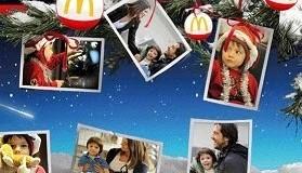 stampe omaggio SnapFish McDonald's Natale 2010 mini