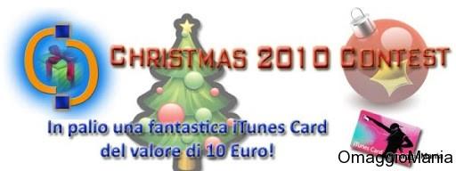 contest itunes card cellulari & computer