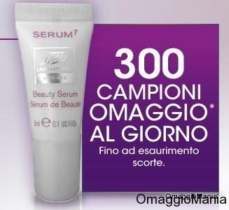 campioni omaggio Serum7 DesideriMagazine