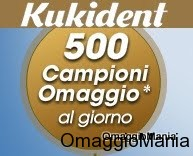 campioni omaggio Kukident DesideriMagazine mini