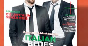 copia omaggio rivista GQ Italian Blues Brothers