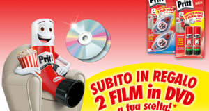 2 film in DVD gratis con Pritt
