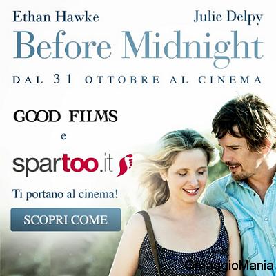 biglietti gratis per vedere al cinema Before Midnight