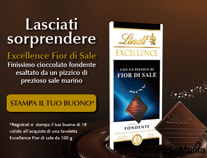 buono sconto Lindt Excellence