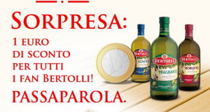 buono sconto olio Bertolli