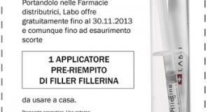 campione gratis cosmetico Fillerina