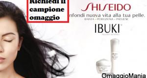 campione omaggio Shiseido Ibuki