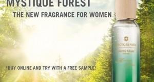 campione omaggio profumo Victorinox Mystique Forest