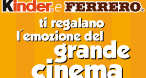 cinema gratis Kinder e Ferrero