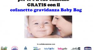 cofanetto gravidanza gratis BabyBag con FarmaciaINsieme