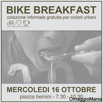 colazione gratis per ciclisti urbani di Torino