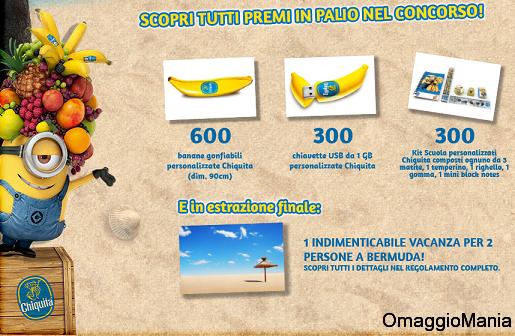 concorso Chiquita settembre 2013
