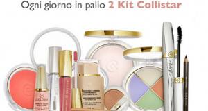 concorso Collistar per vincere kit cosmetici