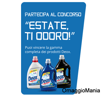 concorso Deox Estate ti odoro