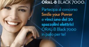 concorso Oral-B per vincere spazzolini elettrici Black 7000