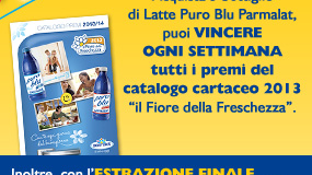 concorso Parmalat per vincere catalogo Il Fiore della Freschezza
