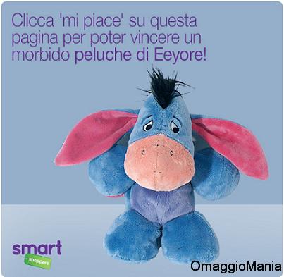 concorso Smart Shoppers Italia per vincere peluche Eeyore