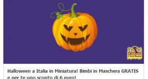 ingresso gratis e buono sconto Italia in Miniatura
