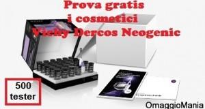 testare gratis cosmetici Vichy Dercos Neogenic con TRND