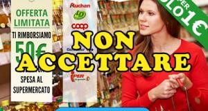 truffa online buoni spesa 50 euro