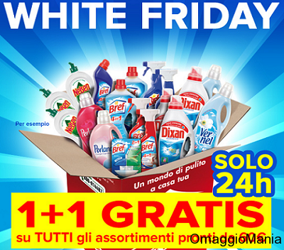 White Friday Casa Henkel 1+1 gratis