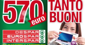 buoni sconto Despar, Eurospar, Interspar