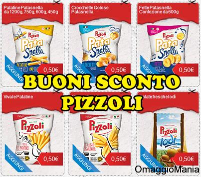 buoni sconto Pizzoli novembre 2013