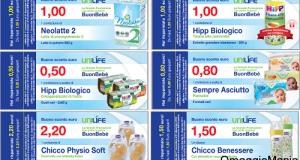 buoni sconto prodotti per bambini da UniLife