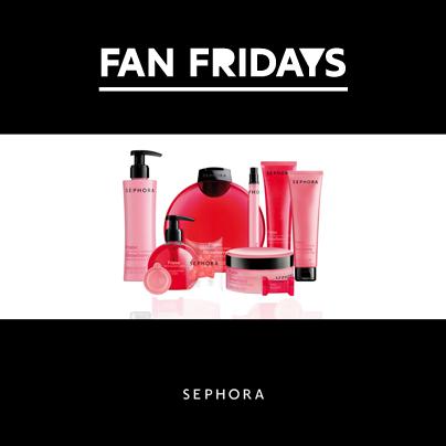 coupon sconto Sephora Fan Fridays Linea Bagno