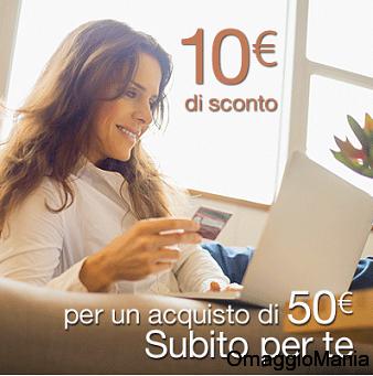 buono sconto Amazon 10 euro